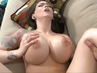 Big titted boss Ashton Pierce big tits brunette milf video