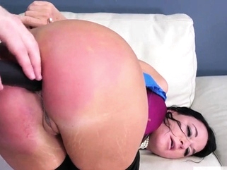 Couple gets dominated and bdsm double Fuck my ass, tear anal ass bdsm video